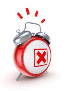 vintage alarm clock graphic