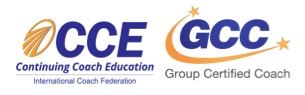 continuing coach education and group certified coach logos