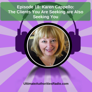 UA Radio Podcast Cover- Karen Cappello