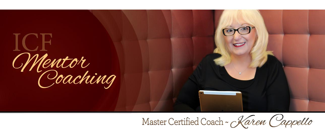 ICF Mentor Coach Karen Cappello MCC