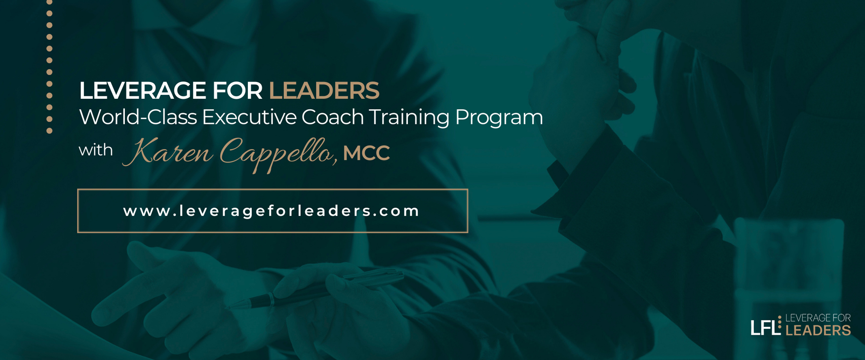 Leverage for Leaders with Karen Cappello, MCC