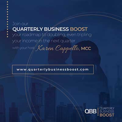 Quarterly Business Boost with Karen Cappello. MCC